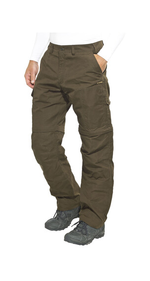 Fjällräven Karl Zip-Off Trousers Men Dark Olive